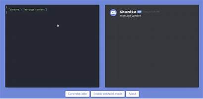 Embed Discord Visualizer Code Generators Snippet