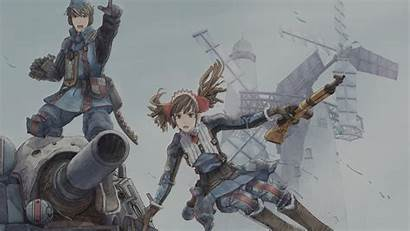 Chronicles Valkyria Welkin Alicia Gun Gunther Hawk