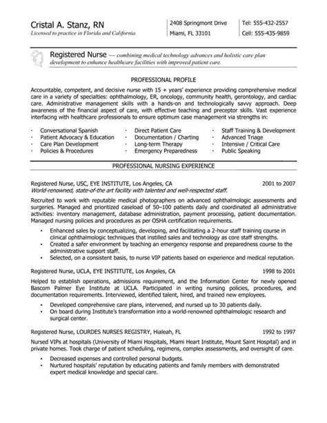 grad rn resume nurse resume service certified