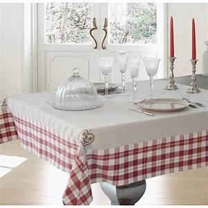 Nappe De Table : nappe de table style vintage cervin brod 150 x 250 ~ Teatrodelosmanantiales.com Idées de Décoration