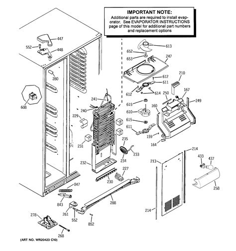 ge refrigerator parts model gssgmhbces sears partsdirect