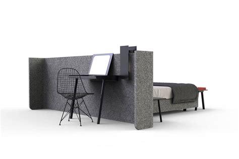 paravent bureau lit area avec paravent pour séparer du coin bureau