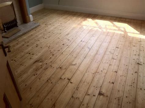 Sanding and Restoration of Original Pine Wood Floor boards