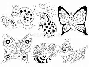 Vector Cartoon Insects Set, Insects Clipart Stock Vector ...