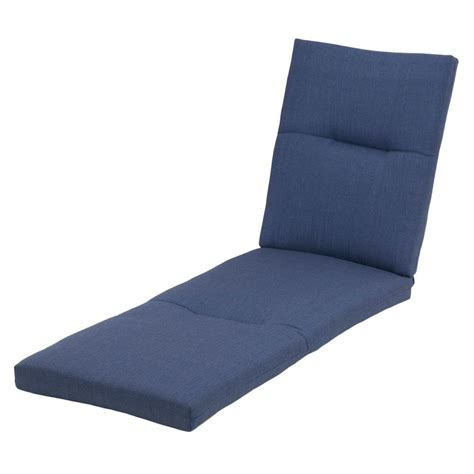 blue chaise lounge hton bay sky blue rapid deluxe outdoor chaise