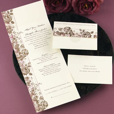 elegant wedding invitations seal  send wedding invitations