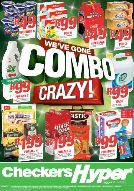 gauteng checkers hyper combo deals  mar   apr