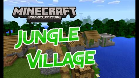 Jungle Village Seed!! Minecraft Pocket Edition