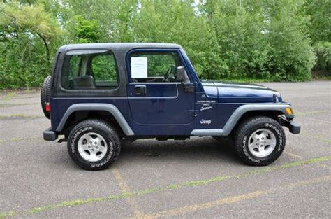 Purchase Used Jeep Wrangler X Type 4.0l No Reserve 4x4