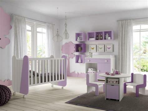 chambre fille mauve decoration chambre bebe fille mauve