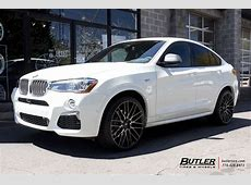 BMW X4 with 22in Savini BM13 Wheels exclusively from