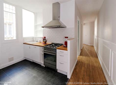 hotte cuisine moderne cuisine moderne avec hotte