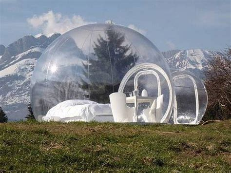 awesome bubble hotel   uk  amazing