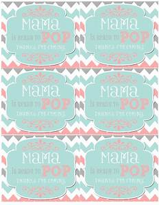 mrs this and that baby shower banner free downloads With ready to pop free template