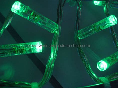 china green led string lights 24v waterproof decorative