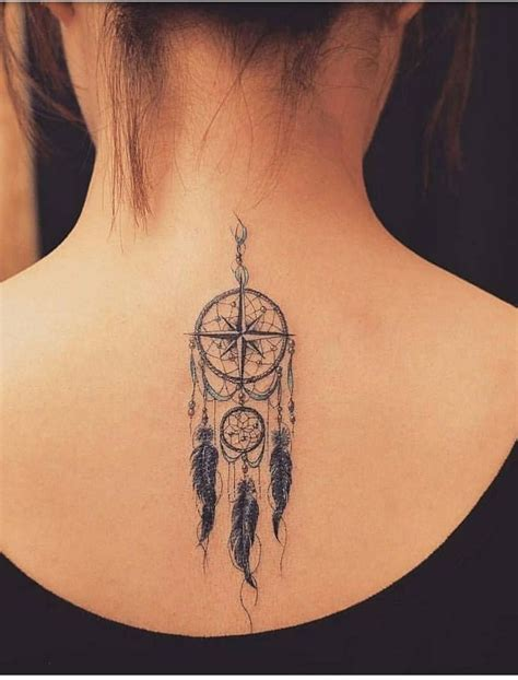 dreamcatcher tattoo girly tattoo small delicate feather