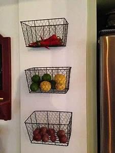 21 DIY Fruit And Veggie Storage Ideas