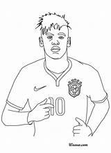 Coloring Rock Neymar Drawing Template Getcolorings Soccer Printable Getdrawings sketch template