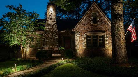outdoor accent lighting architectural landscape lighting light up nashville