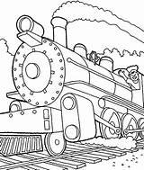 Train Steam Coloring Engine Pages Trains Machinist Drawing Locomotive Printable Drawings Getdrawings Getcolorings Netart sketch template