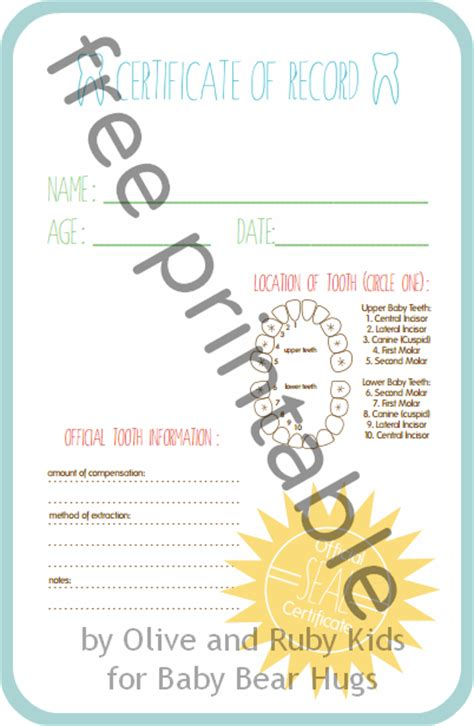 Free Printable Tooth Letter Template by Free Printable Tooth Chart Blogs Justmommies
