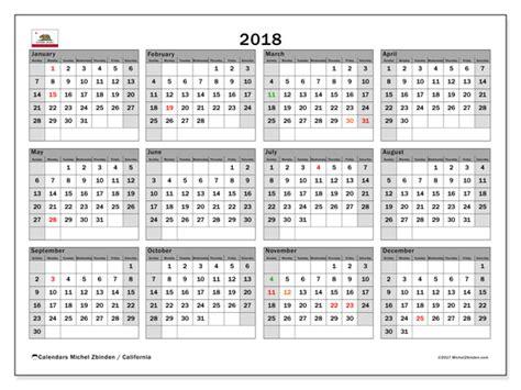 calendar california michel zbinden en