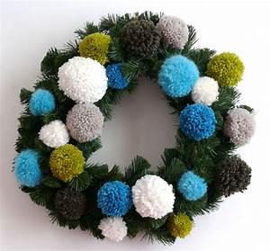 Faire Une Couronne De Noel : une couronne de no l pour trois fois rien bee made ~ Preciouscoupons.com Idées de Décoration