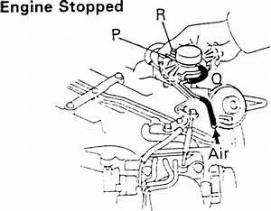 Toyota Previa Vacuum Diagrams