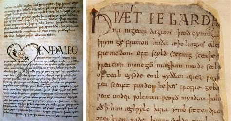 Four Surviving Old English Manuscripts on Display at the ...