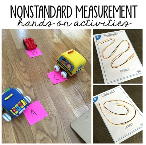Just click on one of the skills below and you'll be taken to a huge collection of effective, creative ways to make learning fun for kids. Nonstandard Measurement Activities for First Grade - Susan ...