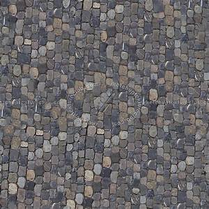 Street Paving Cobblestone Texture Seamless 07401