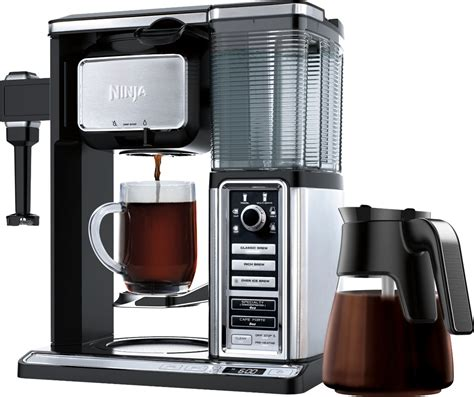 The troubleshooting table will help you to restore the correct operation of your coffee maker. Ninja Coffee Bar 10-Cup Coffee Maker Black/Stainless CF091 ...