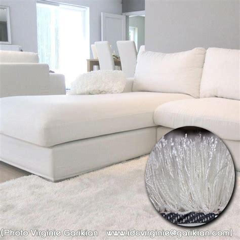 chambre baroque et noir tapis shaggy blanc acheter un tapis de salon shaggy arte