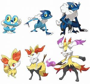 Pokemon X & Y: Final Evolution of Starter Pokemon Leaked ...