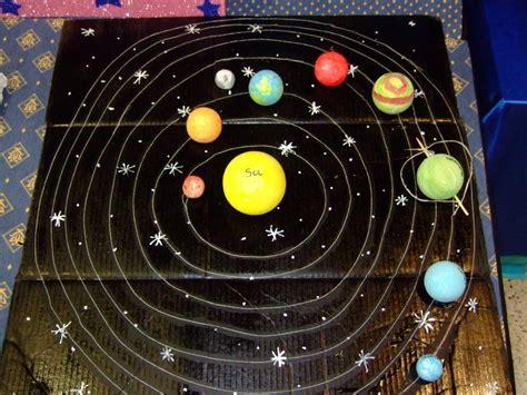 sistema solar maqueta buscar con pinterest