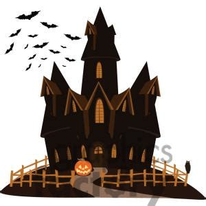 haunted house clipart   cliparts  images