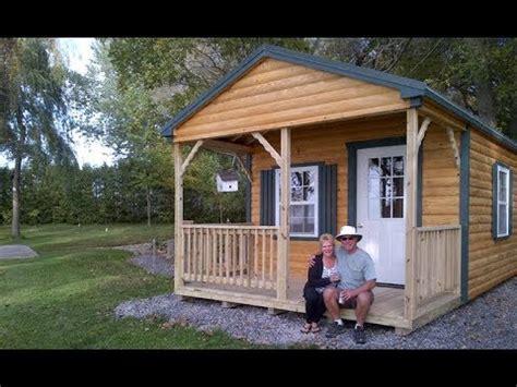 prefab cabin walk  youtube