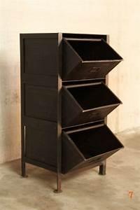 Petit Meuble Industriel : meuble industriel tiroirs petit meuble d 39 appoint deco pinterest places cuisine and catalog ~ Teatrodelosmanantiales.com Idées de Décoration