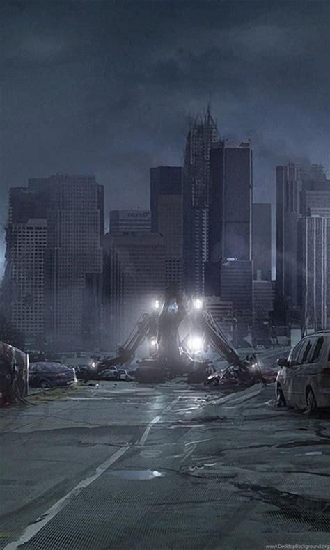 destroyed city backgrounds desktop background
