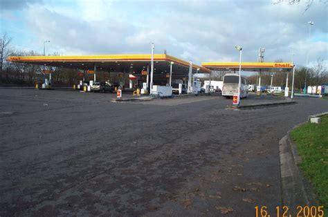 Shell Garage M1 by M1 Motorway Gateway Services C Nigel Cox