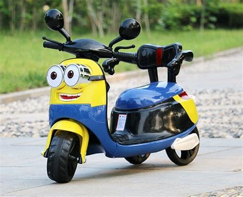 Free Shipping New Small Yellow Children Electric Three