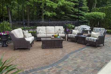 the mila collection 6 all weather wicker patio