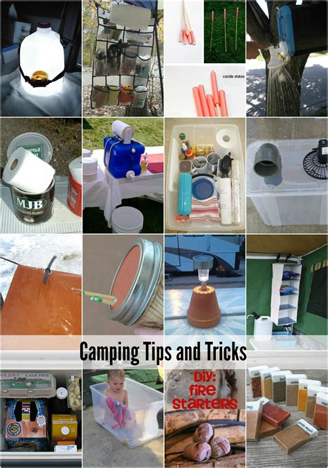 20 Camping Tips And Tricks  The Idea Room