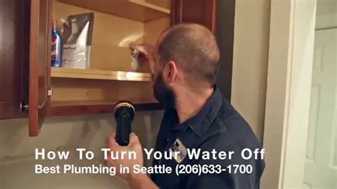 best plumbing seattle how to turn your water for emergencies or home