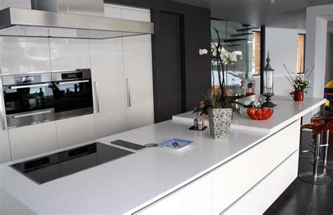 architecture de cuisine moderne photos de cuisine moderne blanche