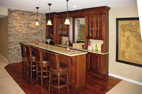 Custom Bar Cabinets by Custom Home Bar Cabinets Basement Bars Pa