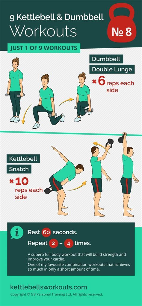 kettlebell dumbbell workout