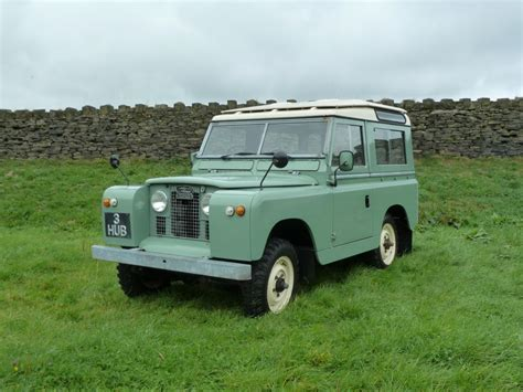 original land rover pac 585f 1968 series iia 88 quot station wagon very
