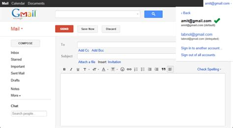 How To Log In To Multiple Gmail Accounts Automatically
