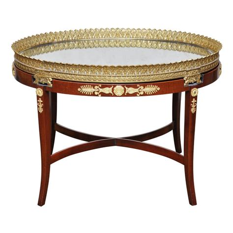 French empire coffee table, 19th century for €2,900.00 (4/27/2021). French Empire Plateau Coffee Table For Sale at 1stdibs